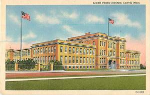 Lowell Textile Institute Lowell Massachusetts MA Linen PC