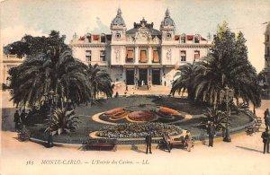 L'Entr»e du Casino Monte Carlo Unused