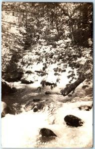 RPPC  HATCHET CREEK near BIG BEND, California  CA    1937  Real Photo  Postcard