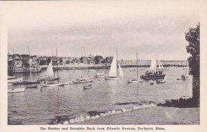 Massachusetts Rockport The Harbor And Bearskin Neck From Atlantic Avenue Albe...