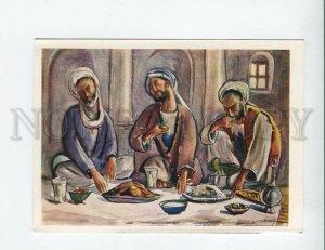 d3142850 AFGHANISTAN Three Blind Men by Abdul Ghafur BRECHNA OLD