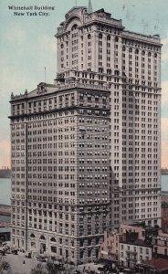 NEW YORK CITY, PU-1913; Whitehall Building
