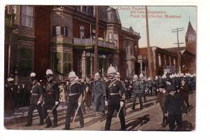 Church Parade, 4th Canadian Engineers, Point St Charles, Montreal, Quebec