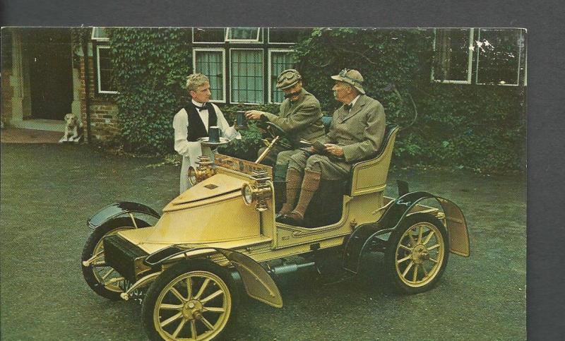 1909 Vauxhall 7/9 hp Post Card Montagu Motor Museum