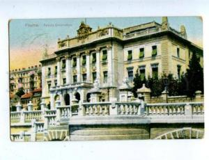 158246 Croatia Rijeka FIUME Governor Palace Vintage RPPC