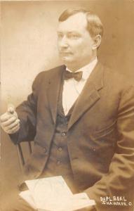 D22/ Shawnee Ohio Postcard Real Photo RPPC 1909 Dr. P.L. Beal Occupational