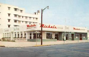 Asbury Park New Jersey Michals Restaurant Vintage Postcard J927648