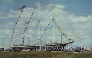The Schooner Lucy Evelyn, Beach Haven, New Jersey, NJ USA Sail Boat Postcard ...