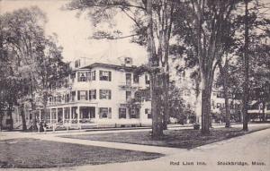 Massachusetts Stockbridge Red Lion Inn 1920