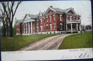 Old Ladies Home Springfield MA Springfield News 5827 1906
