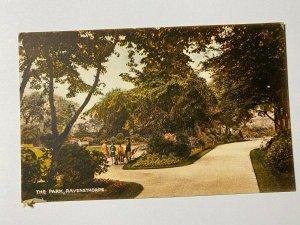 UNUSED VINTAGE POSTCARD - THE PARK RAVENSTHORPE NORTHANTS UK (KK313)