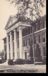 Arkansas Arkadelphia Girls Dormitory Ouachita College Artvue