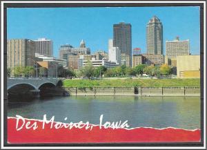 Iowa Des Moines Skyline Scenic View
