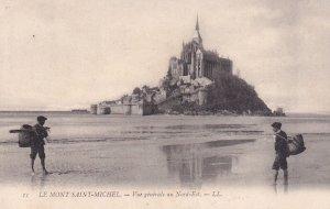 LE MONT SAINT MICHEL, Manche, France, PU-1911; Vue Generale Au Nort-Est