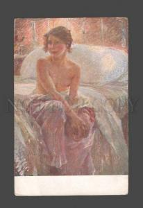 086501 Semi-NUDE Young Belle by PIETRO CHIESA Vintage Italian