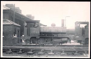 LONDON MIDLAND SCOTTS Railroad Locomotive #11246 RPPC unused