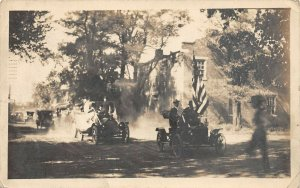 LP54   RPPC  G.A.R.  New York    Vintage Postcard  Civil War Reunion in NY?