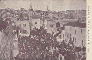 CHRISTMAS DAY in BETHLEHEM, Procession, 1900-10s