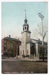 Portland, Me, Parish Church