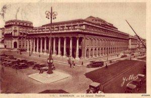 BORDEUX FRANCE LE GRAND THEATRE 1947