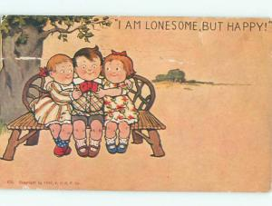 Pre-Linen BOY WITH TWO GIRLS AC1245