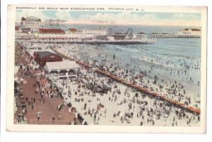 Atlantic City NJ Boardwalk Beach Steeplechase Pier Sithens