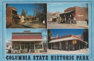 Columbia State Historic Park Grocery Shop Dry Goods Saloon USA Postcard