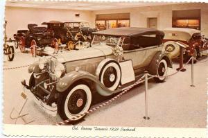 IN - Indianapolis. International Motor Speedway Hall of Fame, 1929 Packard of...