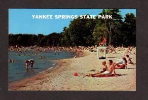 MI Yankee Springs State Park Gun Lk nr Hastings Hickory Corner Michigan Postcard