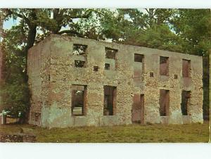 Vintage Post Card Horton House Major William Horton Crown Grant Jekyll GA # 4841