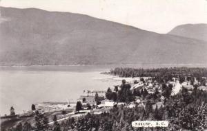RP  Aerial View of Nakusp, British Columbia, Canada, PU-1963