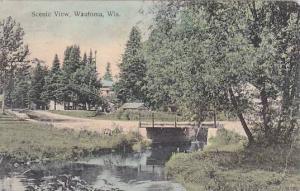 Scenic view Wautoma, Wisconsin PU-1913
