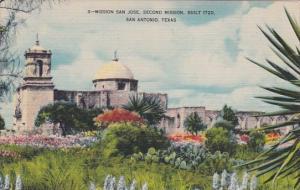 Mission San Jose Second Mission Built 1720 San AntonioTexas