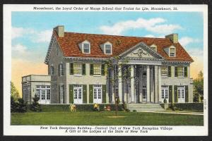 Mooseheart School 'Trains for Life' Mooseheart Illinois Unused c1940