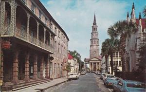 Along Church Street, Charleston, South Carolina 1960-70's