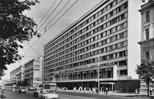 Russia Moscow Minsk Hotel Restaurant Cafe Trolleybus Auto Cars