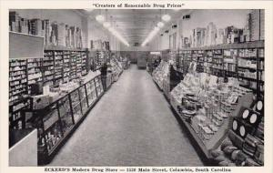 Creators Of Resonable Drug Prices Eckerds Modern Drug Store 1530 Main Street ...