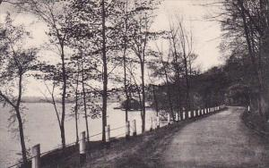East Shore Drive Lake Washining Twin Lakes Connecticut  Albertype