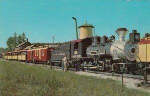 The 1880 Narrow Gauge Train on way to OBLIVION, South Dakota, 1940-60s