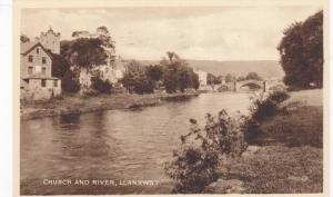RP; Church and River, Llanrwst, Wales, United Kingdom, 10-20s