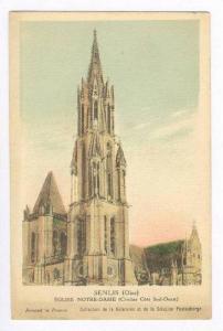 Senlis (Oise), Eglise Notre-Dame (Clocher Cote Sud-Ouest), France 1910-30s