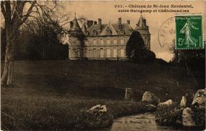 CPA  Chateau de St-Jean Kerdaniel - entre Guingamp et Chateleaudren  (630425)