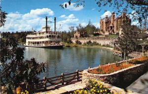 Walt Disney World 0100-10216 Cruise the River, Creases on Left,Vintage Postcard