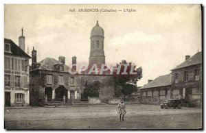 Old Postcard The Church Argences