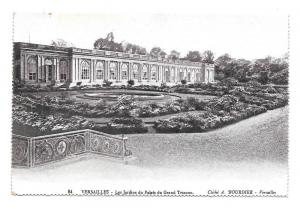 France Versailles Jardin Grand Trianon Vtg Bourdier Postcard