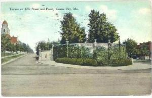 Terrace On 12th Street & Paseo, Kansas City, Missouri, PU-1909