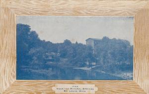 ST LOUIS , Michigan , PU-1910 ; Mineral Springs
