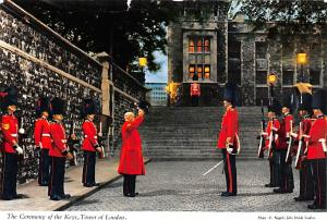 London United Kingdom, Great Britain, England Ceremony of the Keys, Tower of ...