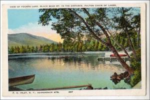 Fourth Lake, Fulton Chain, Adirondack Mts NY