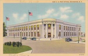 New York Rochester Post Office Curteich
